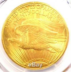 1922-S Saint Gaudens Gold Double Eagle $20 PCGS MS64+ Plus Grade $8500 Value