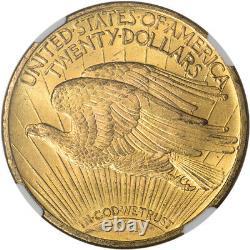 1922 US Gold $20 Saint-Gaudens Double Eagle NGC MS64