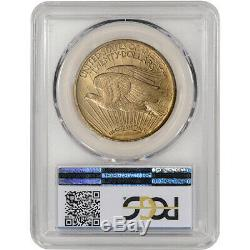 1922 US Gold $20 Saint-Gaudens Double Eagle PCGS MS63