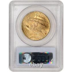 1922 US Gold $20 Saint-Gaudens Double Eagle PCGS MS64