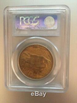 1923 $20 Saint Gaudens Gold Double Eagle PCGS MS62 coin
