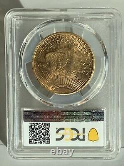 1923 $20 Saint Gaudens Gold Double Eagle PCGS MS63! 37549105