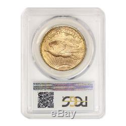 1923 $20 Saint Gaudens PCGS MS63 Gold Double Eagle Choice graded coin LUSTROUS