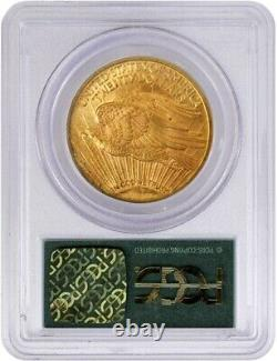 1923 $20 St Gaudens Double Eagle Gold PCGS MS62 Gen 3.1 Old Green Holder OGH