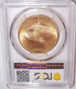 1923-D $20 Denver Gold GEM St Gaudens Double Eagle PCGS MS66