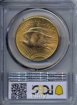 1923 D $20 Saint Gaudens Gold Double Eagle PCGS MS 65+ Plus Grade