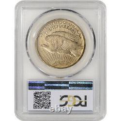 1923 US Gold $20 Saint-Gaudens Double Eagle PCGS MS63