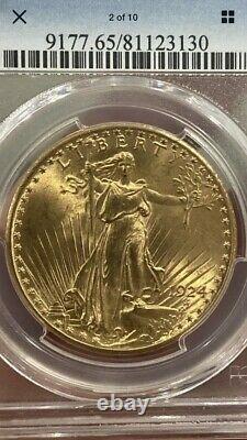 1924 $20.00 Saint Gaudens Double Eagle PCGS MS 65! Very High Grade Beauty