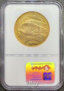 1924 $20 American Gold Double Eagle Saint Gaudens MS64 NGC CAC Certified Coin