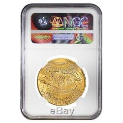 1924 $20 Gold Saint Gaudens Double Eagle Coin NGC MS 64