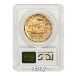 1924 $20 Gold Saint Gaudens PCGS MS65 Gem Graded Philadelphia Double Eagle Coin