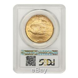 1924 $20 Gold Saint Gaudens PCGS MS65+ PQ Approved plus graded Double Eagle coin