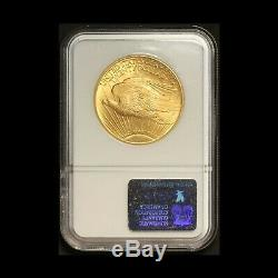 1924 $20 Gold St. Gaudens Double Eagle NGC MS 65 Free Shipping USA