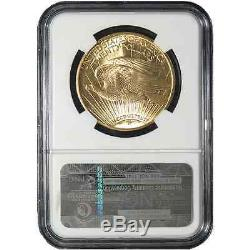 1924 $20 Gold St. Gaudens Double Eagle NGC MS63 Brown Label
