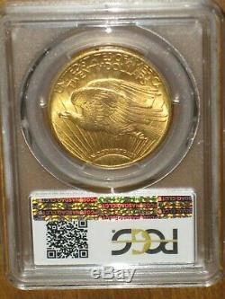 1924 $20 Saint Gaudens Gold Double Eagle PCGS MS63