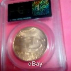1924 $20 St. Gaudens Double Eagle Pcgs Ms65 Saint Old Green Holder Ogh