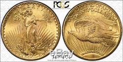 1924 $20 St Gaudens Gold Coin Pcgs Ms 66 1924 Saint Gaudens Double Eagle