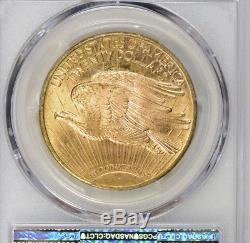 1924 $20 St. Gaudens Gold Double Eagle, PCGS MS65+