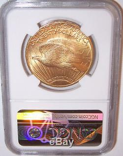 1924 $20 St Gaudens NGC MS66 GEM Philadelphia Gold Double Eagle