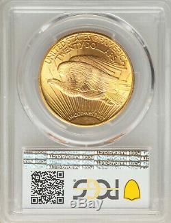 1924 $20 St Gaudens PCGS MS66+ Gold Shield GEM Philadelphia Gold Double Eagle