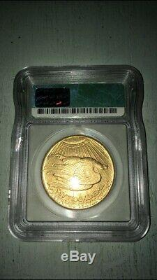 1924 Igc Ms63 $20 Gold St. Gaudens Double Eagle Us Coin