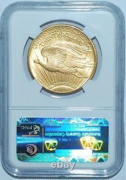 1924 NGC MS64 Saint Gaudens $20 Double Eagle