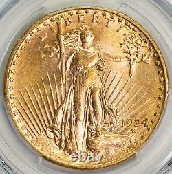 1924 PCGS MS64 $20 Saint Gaudens Gold Double Eagle Item#P13054