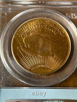 1924 Pcgs St Gaudens $20 Dollar Gold Ms-66 Double Eagle