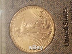 1924 Saint Gaudens $20 Gold Double Eagle Investment Rarities scarce Vintage
