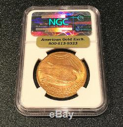 1924 St. Gaudens Double Eagle MS 65 $20 coin NGC certified