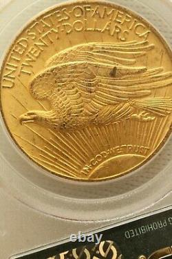1924 U. S. $20 St. Gaudens Double Eagle Gold PCGS MS62