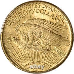 1924 US Gold $20 Saint-Gaudens Double Eagle PCGS MS63