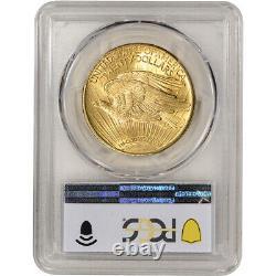 1924 US Gold $20 Saint-Gaudens Double Eagle PCGS MS64+