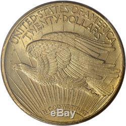1924 US Gold $20 Saint-Gaudens Double Eagle PCGS MS64