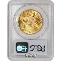 1924 US Gold $20 Saint-Gaudens Double Eagle PCGS MS66