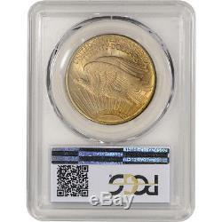 1924 US Gold $20 Saint-Gaudens Double Eagle PCGS MS66
