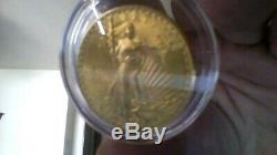1924 Uncirculatedst Gaudens $20 Double Eagle 1oz Gold Coin