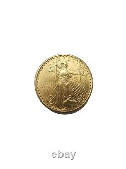 1924 gold st. Gaudens double eagle 20 coin Not Graded
