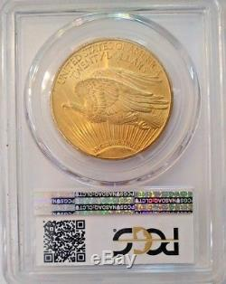 1925 $20 Gold Double Eagle St. Gaudens PCGS MS65