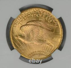 1925 $20 MS 66 + PLUS NGC Gold Double Eagle Saint Gaudens Coin Free shipping