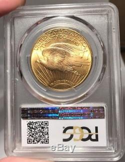 1925 $20 PCGS MS 65+ St. Gaudens Gold Double Eagle