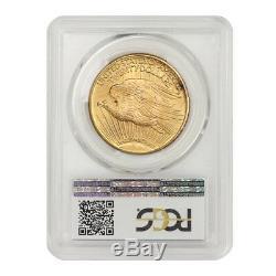 1925 $20 Saint Gaudens PCGS MS65 Gem graded Philadelphia Gold Double Eagle coin
