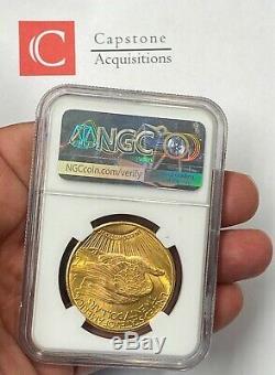 1925-P $20 Saint Gaudens Gold Double Eagle NGC MS66+ (plus) Super Gem! PQ+
