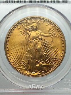 1925 PCGS MS65 $20 Gold Saint Gaudens Double Eagle