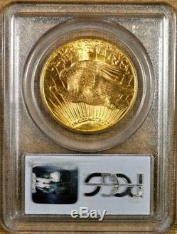 1925 PCGS MS66 $20 Saint Gaudens Gold Double Eagle Better Date