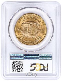 1925 Saint-Gaudens $20 Gold Double Eagle PCGS MS63 SKU49579