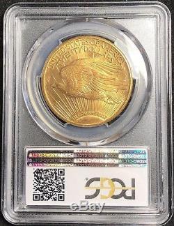 1925 Saint Gaudens Gold $20 Double Eagle Pcgs Ms65+ Plus
