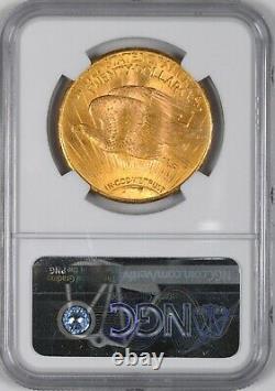 1925 Saint Gaudens Gold Double Eagle $20 NGC MS64