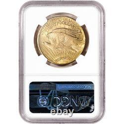 1925 US Gold $20 Saint-Gaudens Double Eagle NGC MS64