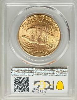 1925 US Gold $20 Saint Gaudens Double Eagle PCGS MS64 CAC
